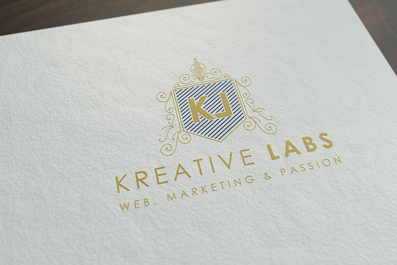 mockup logo Kreative Labs Or